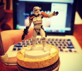 Star Wars Legion stormtrooper