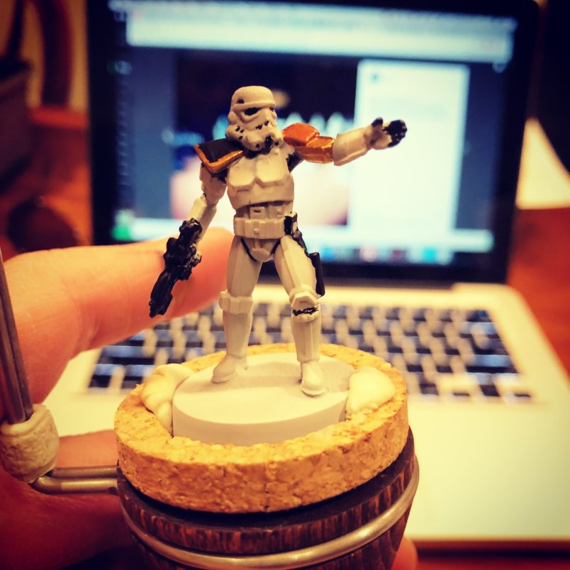 Star Wars Legion stormtrooper