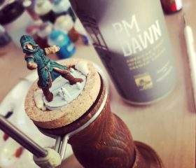 Hero Forge custom miniature of my Way of the Four Elements Monk.