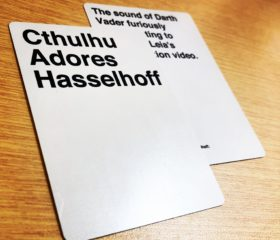 Custom Cards Against Humanity cards.